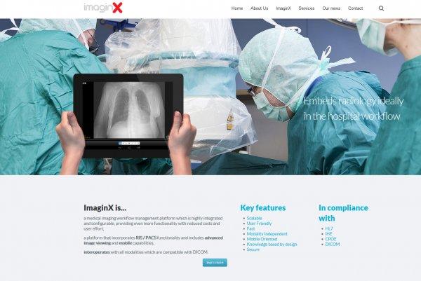 ImaginX-Medical Imaging Workflow Management platform